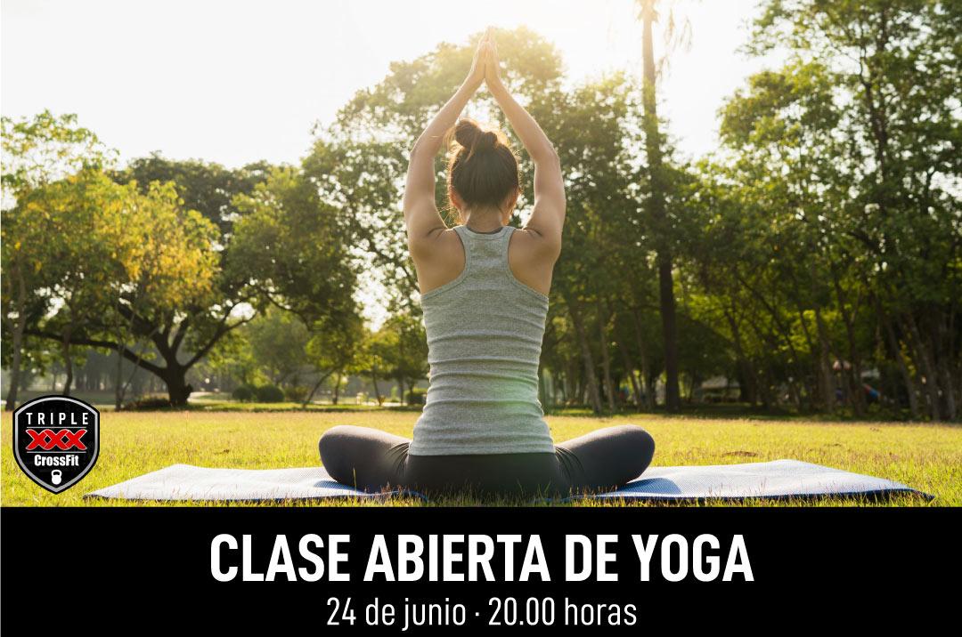 Clase abierta Yoga